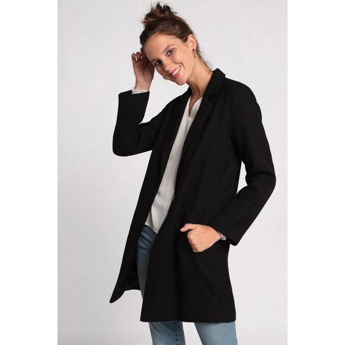 jolie et colorée dernière collection style populaire Manteau léger long noir Cache-Cache | La Redoute