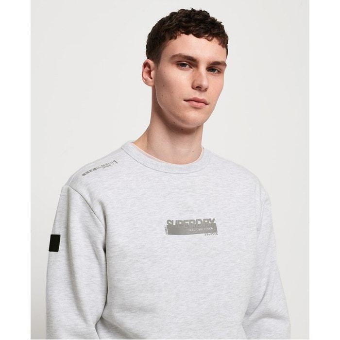 Superdry Sweat shirt à col rond Black Label Edition pour Homme