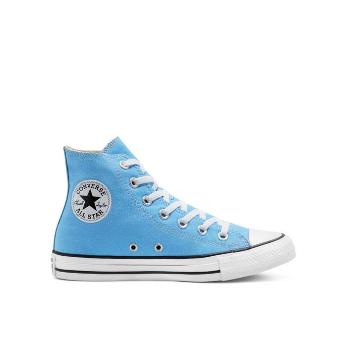 converse bleu brillant