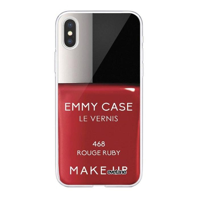 coque 360 rouge iphone xs