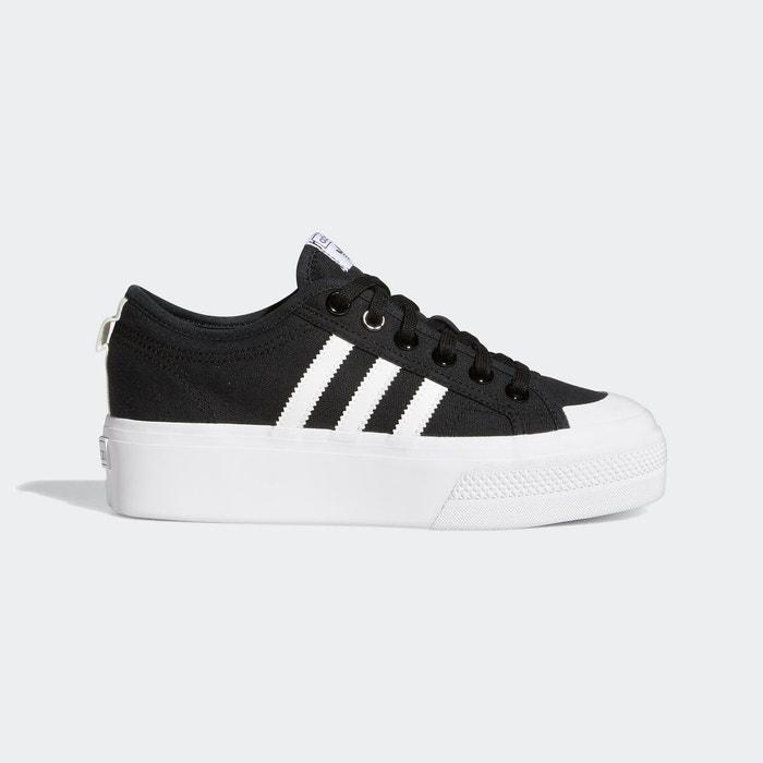 Baskets nizza platform noir Adidas Originals | La Redoute