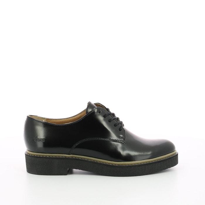 Derbies cuir oxfork noir Kickers | La Redoute