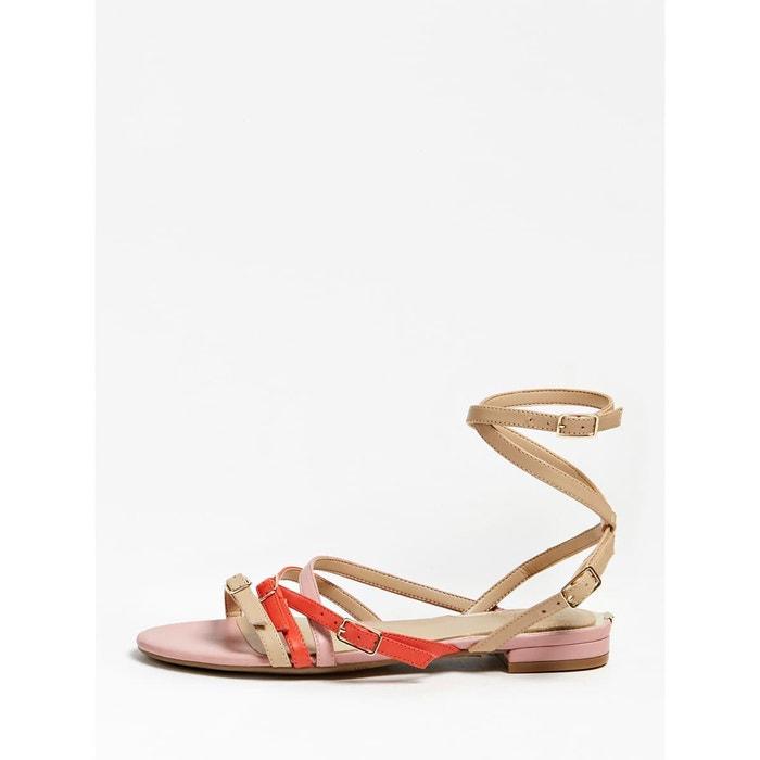 Sandale basse regalo cuir Guess | La Redoute