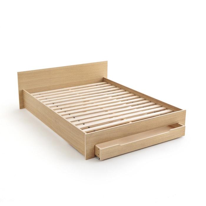 Super Bed met bedbodem + lade crawley eikenhout La Redoute Interieurs MA-77