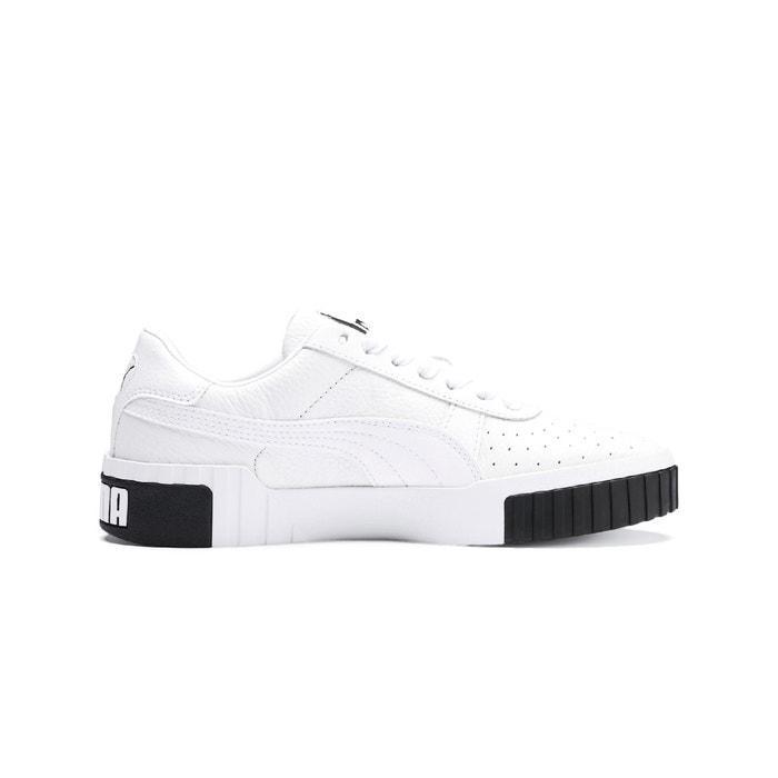Cali trainers white/black Puma | La Redoute