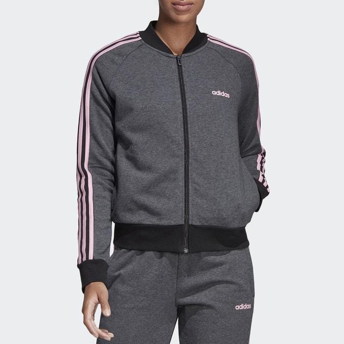 Veste zippée, essentials dt8607 grisrose Adidas Performance