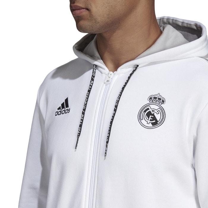 fresh styles top brands good Real Madrid Football Logo Print Hoodie