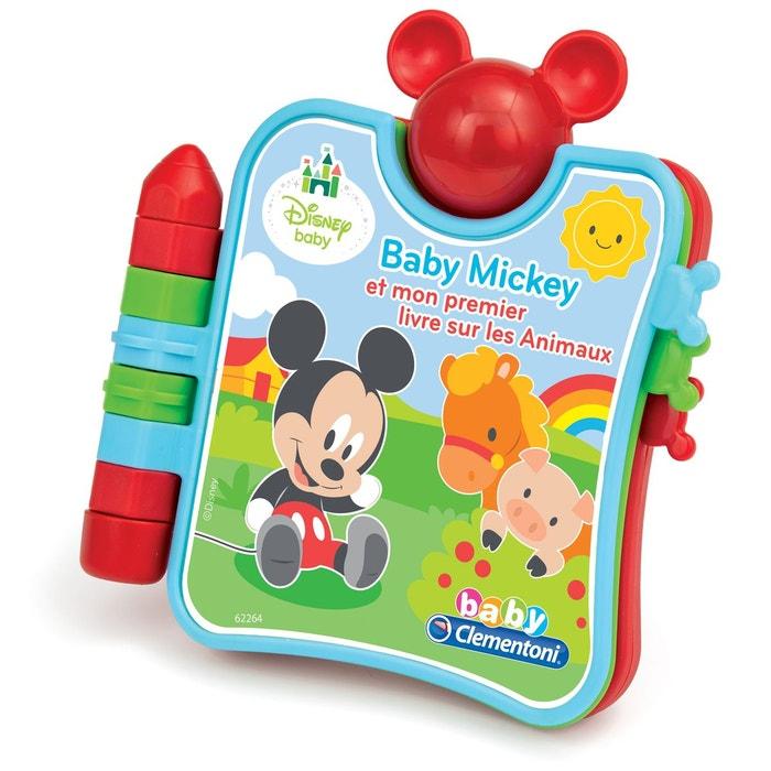 Mickey Et Mon Premier Livre Sur Les Animaux Clementoni La