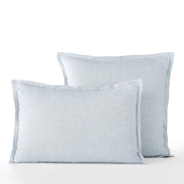 Ekani chambray linen pillowcase Am.Pm