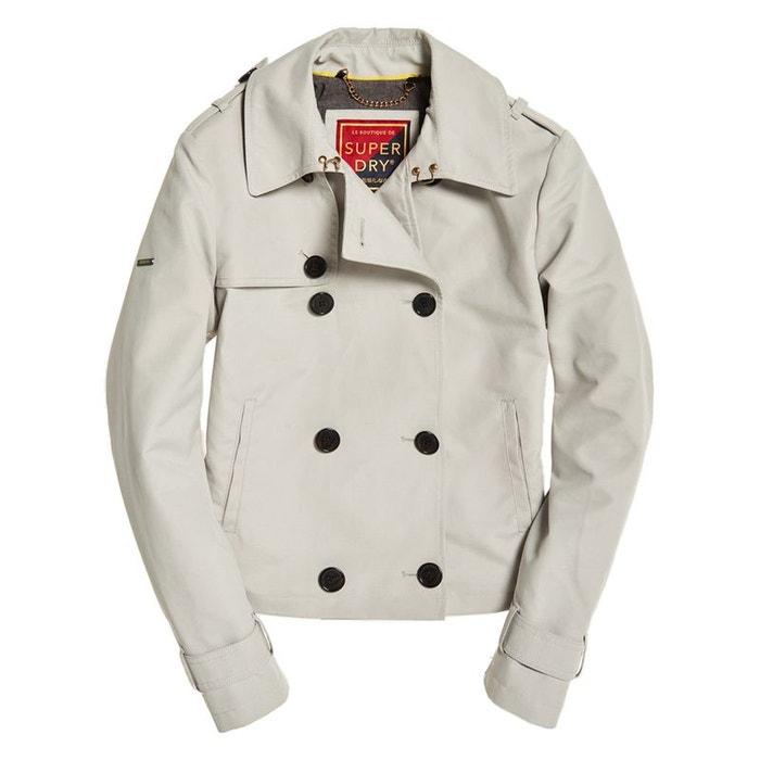 Trench coat court Azure