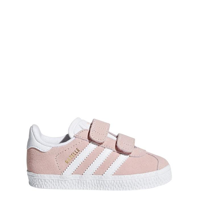 Baskets scratch gazelle cf i rose pale Adidas Originals | La ...