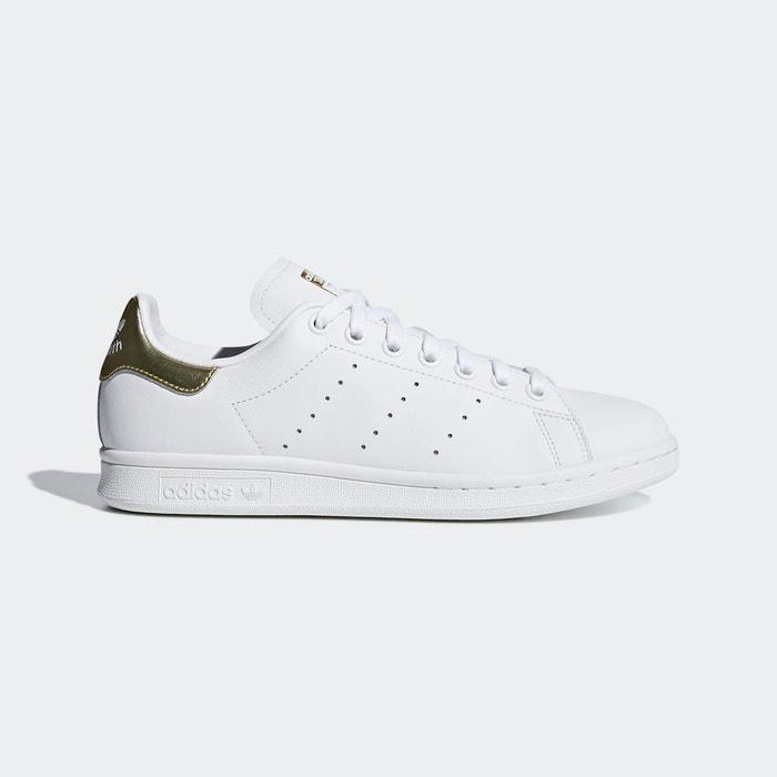 Baskets stan smith blanc rose Adidas Originals   La Redoute