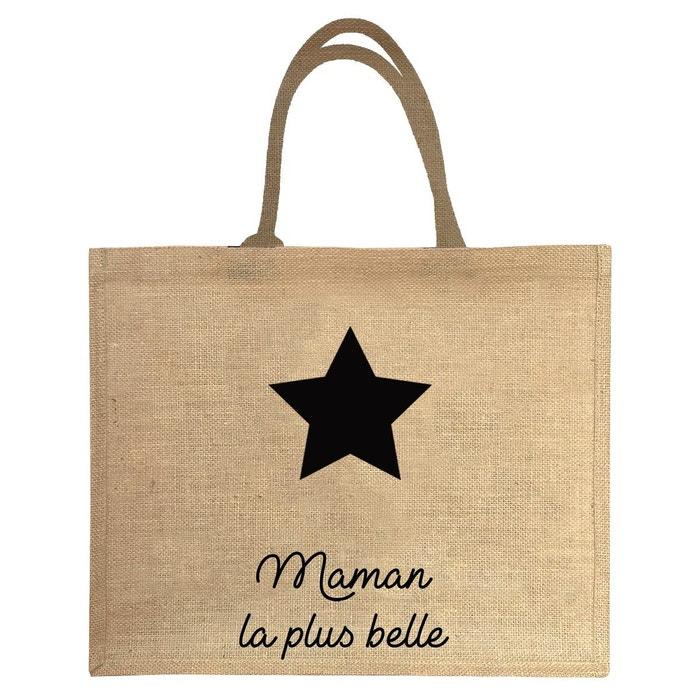 meilleur site web 4758b 19789 Sac cabas en jute maman la plus belle etoile Les Griottes ...
