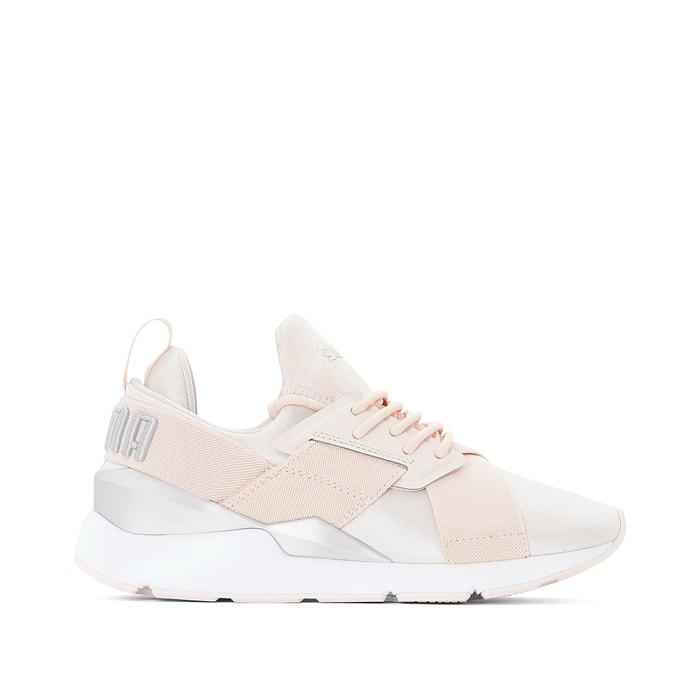 size 40 7e7b2 3250e Muse satin ii trainers , pale pink, Puma | La Redoute