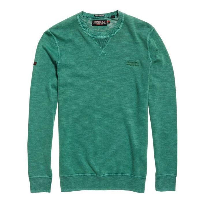 Pull à col rond garment dye l.a. Superdry | La Redoute