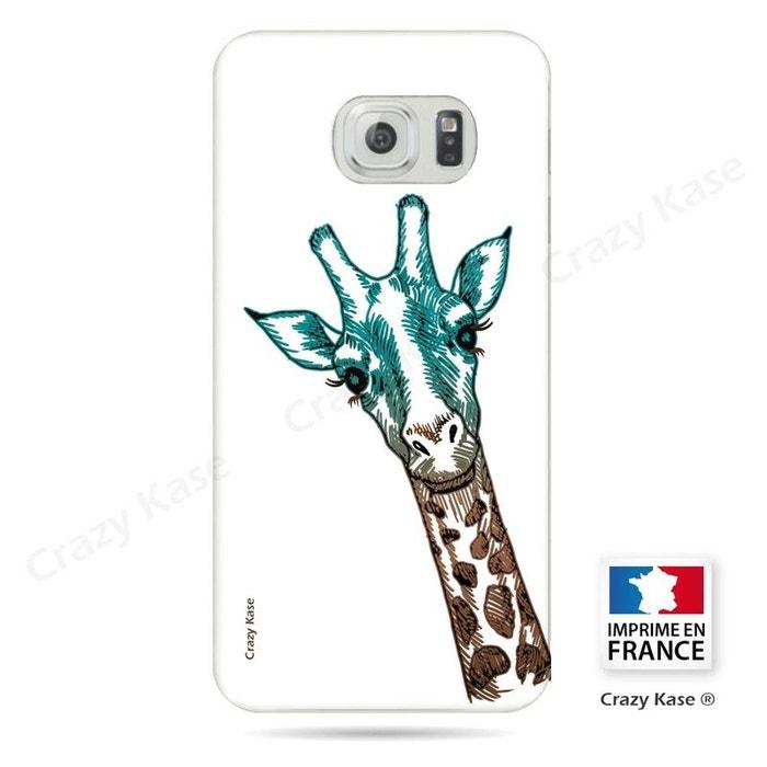 coque samsung s6 girafe
