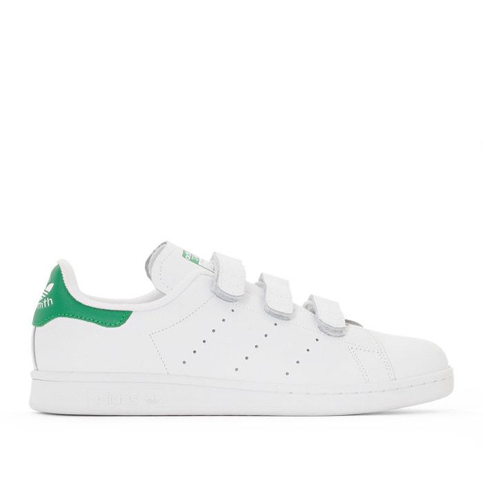 Sneakers met klittenband stan smith cf witgroen Adidas