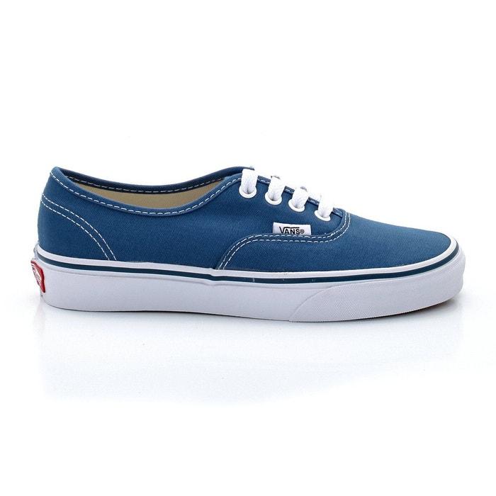 vans bleu marine cuir