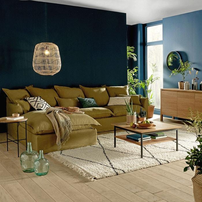 Grand tapis berbère pour canapé d'angle