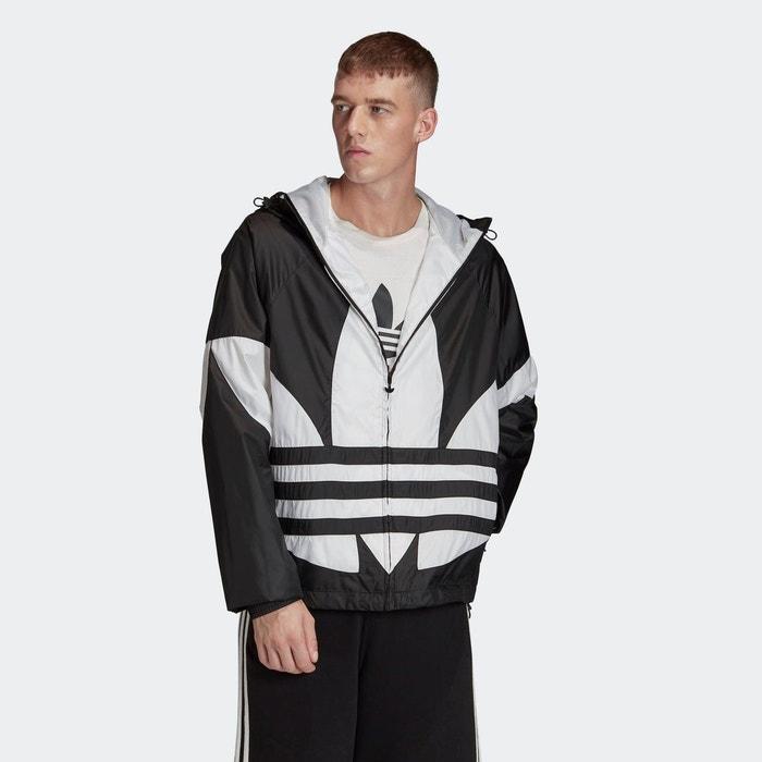 Coupe vent big trefoil noir Adidas Originals | La Redoute