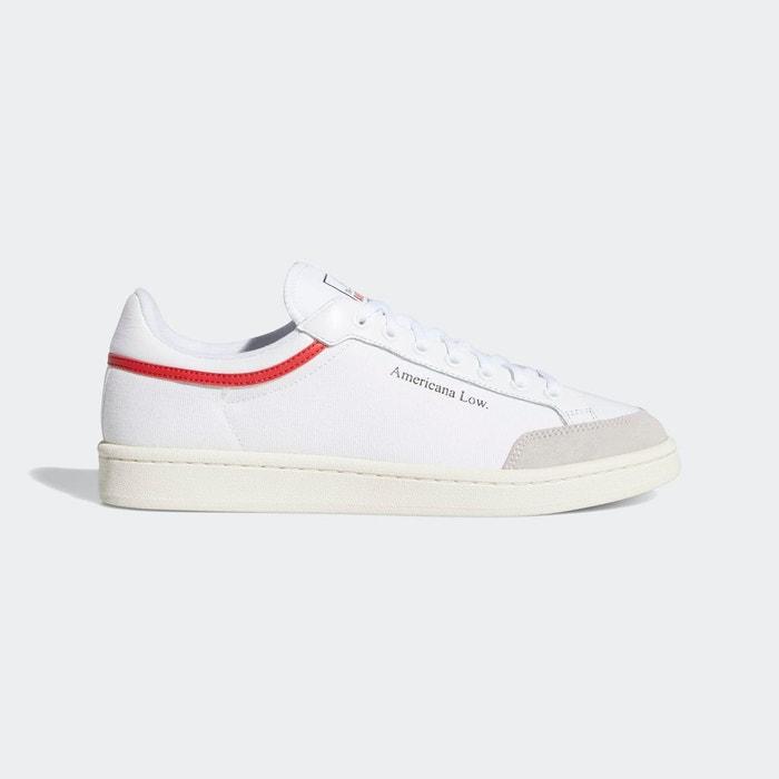 Baskets americana low blanc Adidas Originals | La Redoute