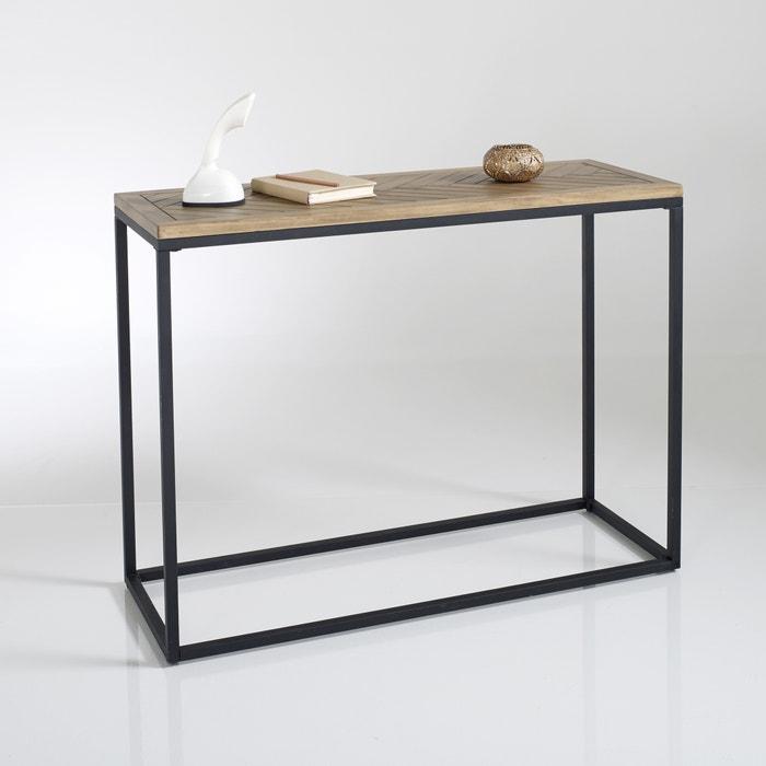 Nottingham Console Table Polished Pine La Redoute Interieurs