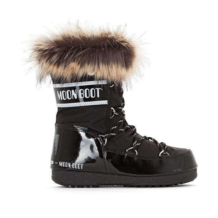 Monaco low wp boots , black, Moon Boot   La Redoute