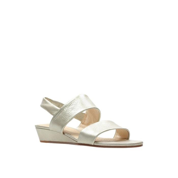Sandales cuir sense lily 2 doré Clarks | La Redoute