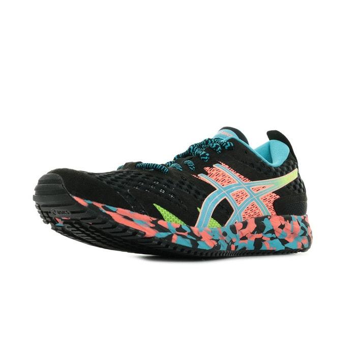 Chaussures de running gel noosa tri 12 noir, bleu clair