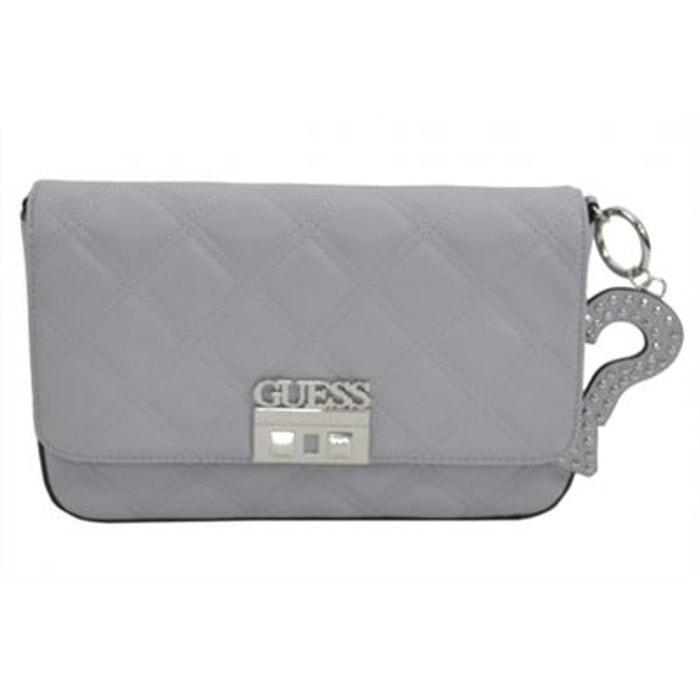 sac a bandoulière guess gris