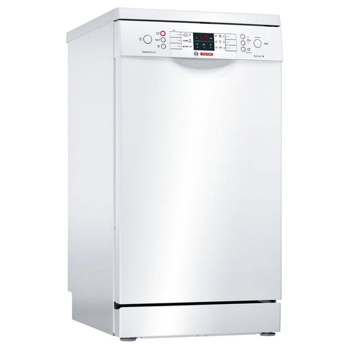 Lave Vaisselle 45 Cm Supersilence Sps46 Blanc Bosch La Redoute