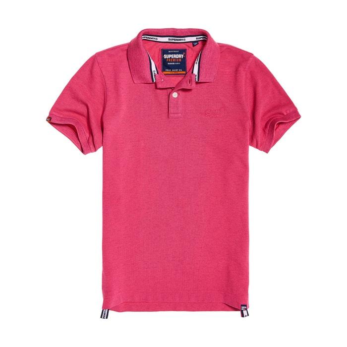Jack /& Jones Hommes Poloshirt Polo Manches Courtes Shirt Shirt Top T-shirt fushia