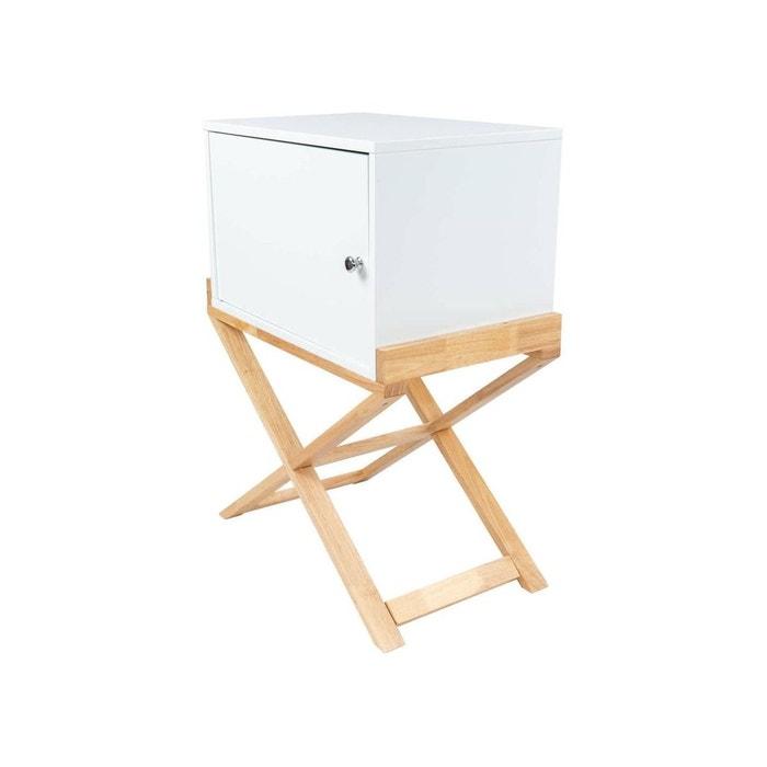 chevet valerie 110 EspinaLa Redoute Table de Arte blanc H9YDW2IE