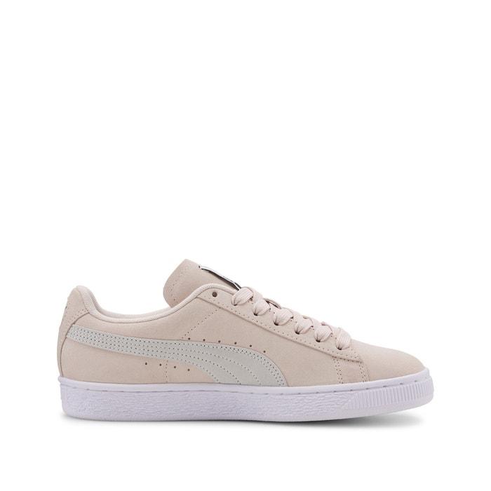Suede classic + trainers pink Puma | La Redoute