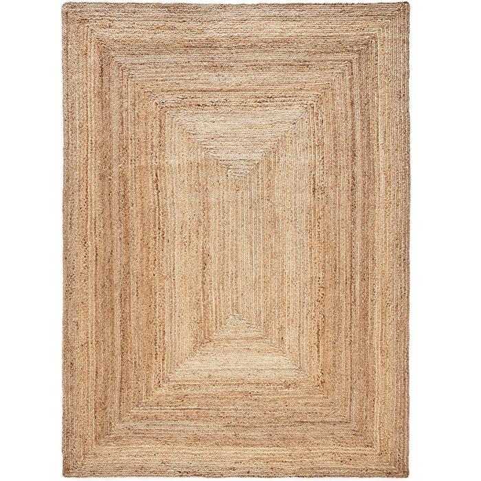 Hempy jute rug, extra large , natural