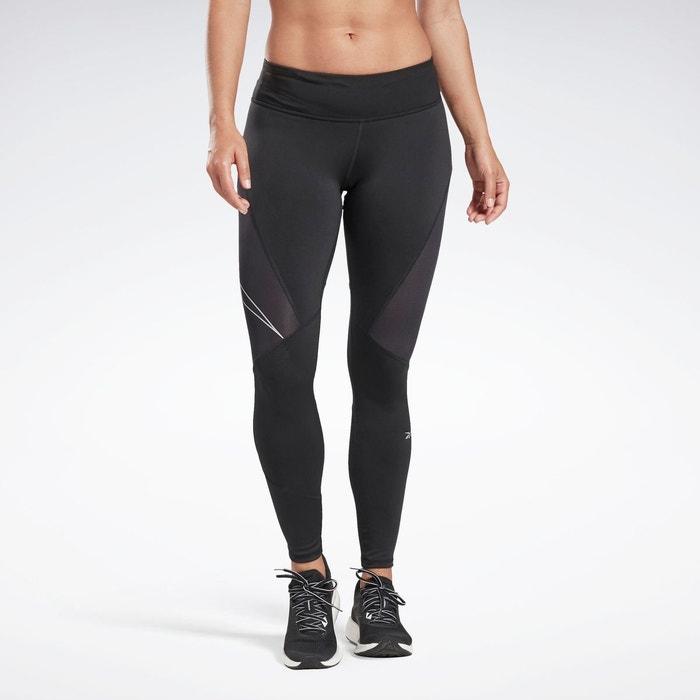 Legging de running avec logo réfléchissant one series noir