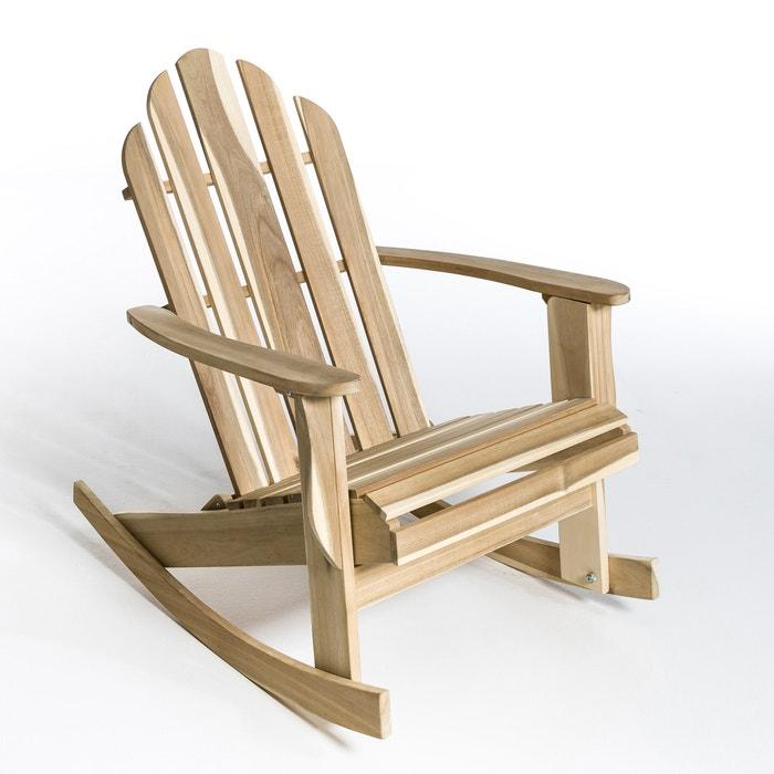 Theodore Adirondack Style Rocking Chair Am Pm La Redoute