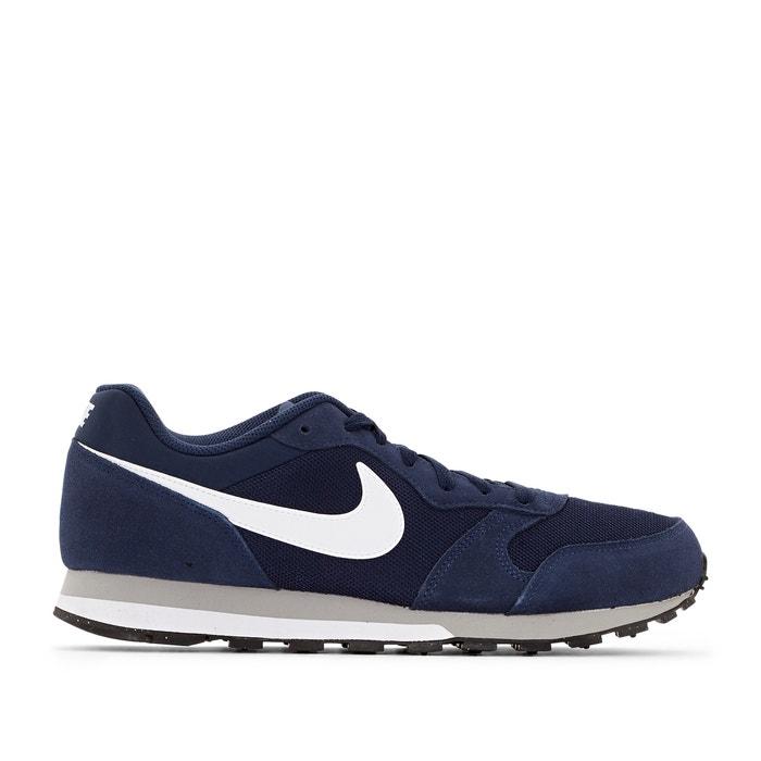 Zapatillas Nike Md Runner Beige y Azul