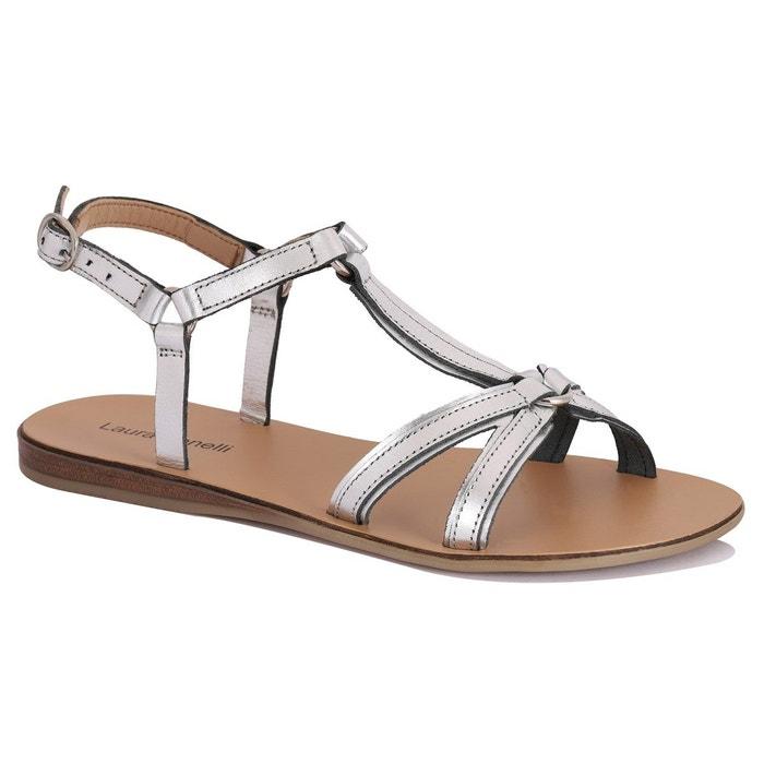 CHLOE ST CLAIR Sandale en cuir Diana