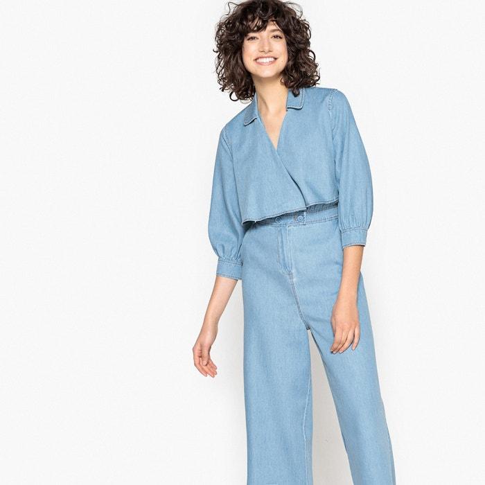 San Francisco Buenos precios patrones de moda Mono-pantalón tobillero denim La Redoute Collections | La ...