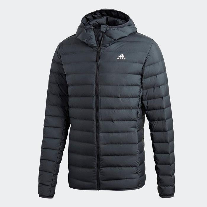 Doudoune à capuche varilite soft gris Adidas Performance