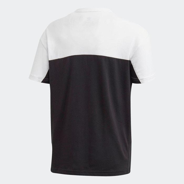 T shirt colorblock noir Adidas Originals | La Redoute