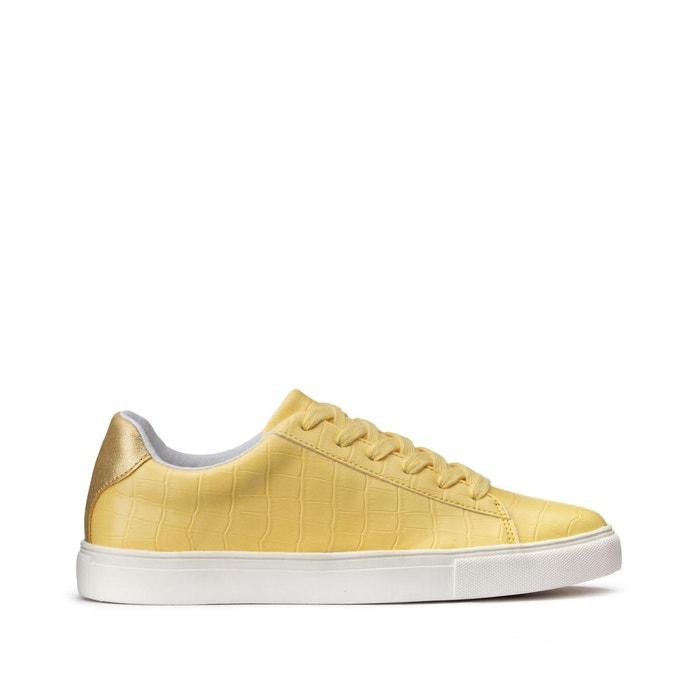 alinea : croco meuble à chaussures blanc 8 paires