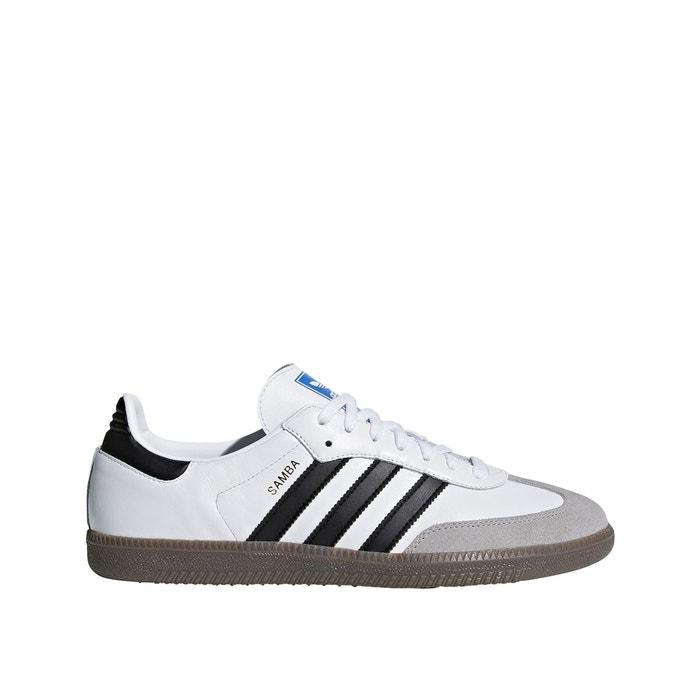 Baskets samba blanc Adidas Originals   La Redoute