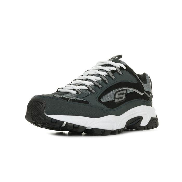 Baskets stamina cutback gris, noir Skechers | La Redoute