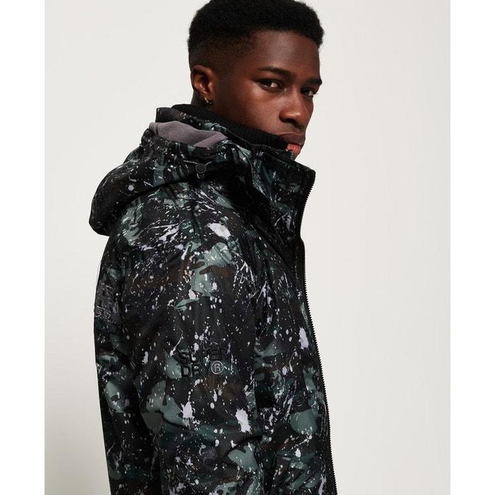 Veste à capuche imprimée pop zip arctic sd windcheater