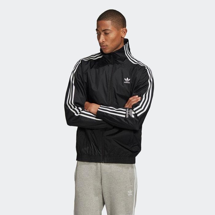 Veste de survêtement noir Adidas Originals | La Redoute
