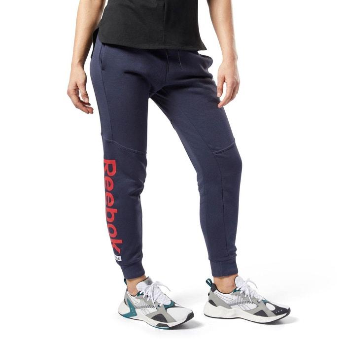 Pantalon avec logo linéaire training essentials bleu Reebok