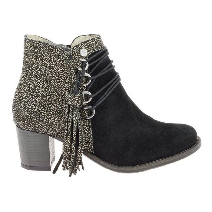 Super remise style top photos officielles Bottines / boots cuir noir Dkode   La Redoute