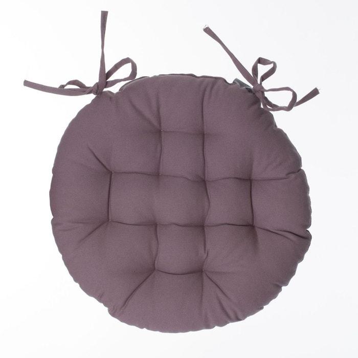 Galette de chaise ronde diam. 40 cm. Atmosphera   La Redoute